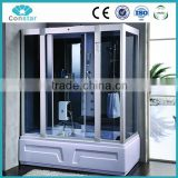 2016 New hot whirlpool steam manufacturer massage tempered glass bathroom shower enclosure /shower cabin /shower room