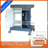 custom sheet metal powder coating movable workstation storage trolley cabinet build assembly OEM processing fabrication factory