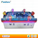 Funshare 6 players coin operated arcade fishing game machine fish hunter with rocker bar