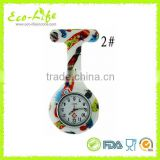 Factory Colorful Silicon Nurse Watch, Digital Nurse Watch, Doctor Watch, Pocket Watch