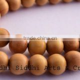 sandal wood japamala 108 bead/sandalwood products/hindu rosary