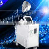 2015 Hot selling 4 handles oxygen jet peel water oxygen skin rejuvenation beauty equipment with skin test
