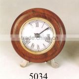 WHOLESALE SUPPLIER OF WOODEN TABLE CLOCK