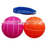 Game Outdoor ball Transparent Beach Volley ball/ECO-PVC inflatable pool volleyball /Game ball