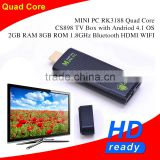 Quad core CS898 rk3188 Mini pc hdmi bluetooth adapter OS 2GB RAM 8GB ROM 1.8GHz Bluetooth HDMI WIFI Andriod TV Dongle