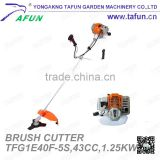 cg 430 brush cutter with new design