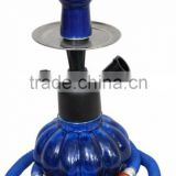 blue mini glass hookah shisha for sale