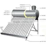 Solarizer integrative solar heating with assistant tank 5L or 10liters