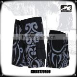 Men's tattoo print quick dry board shorts swim trunks