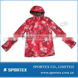 women's printed jacket with fashion design