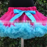 Latest design Adorable halloween nylon chiffon fluffy pettiskirt wholesale kids tutu skirt dress