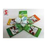 Customized 250g Tea Packaging Bags Aluminum With Ziplock  Foil Lined Gravure printing