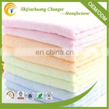 China Top 10 towels' factory high quality 100% cotton Plain weave hot sale color face towel