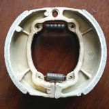 Motorcycle brake shoe for Bajaj boxer,weightness of 156g