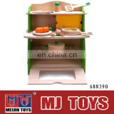 Classic toy wooden kitchen toy environmental wooden kitchen sets toy
