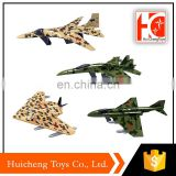 shantou toy 1:64 slide fighter jet military diecast models for wholesale