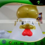 Inflatable Trump Chicken/High Quality Inflatable Cartoon Toys From Hongyi