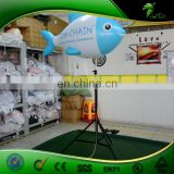 Tripod Bracket Artificial Fish Shape Light Inflatable LED Fish Replica Balloon Hot Air Balloon Decor Party