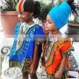 Dashiki Print Boys Girl Dress Hippie kids Children African Clothes Shirt Traditional-Kids-Dashiki-Boho-Tribal-Blouse S M L SIZE