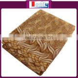 2016 Latest Cheap heavy african gold swiss voile lace with stone fabric attractive for making dress