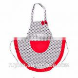 water / oil paint proof kids painting apron or children cooking apron