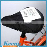 Advertising custom printed waterproof bicycle seat cover