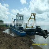 Cutter suction dredging machine/gold sand mining dredge/dredger for beach dredging on sale