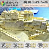 Small scale simulation of building model puzzle and other metal puzzle,non-standard design , welcome to customize processing!