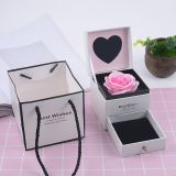 Flower Box Double Rose Box With Hand Gift Box Gift Box Lipstick Necklace Jewelry Box Gift Box