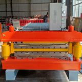 Roll forming machine color steel tile machine two layers