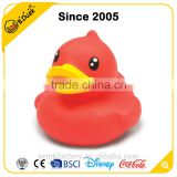 Semk wholesale cute floating red inflatable rubber duck