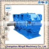 china agricultural Gearbox H/B Serial Helical / Bevel Transmission Gear box Parts With Electric Engine motors
