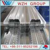 750/688mm effective width 0.8mm structural steel decking,structural floor decking,Metal Deck Floor Sheet