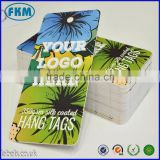 Custom hang tags - clothing tag - swing tag - printed with your details on thick card for clothing labels and packing