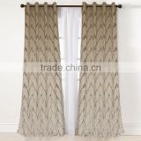 Unique design High end American Style Blackout readymade atmosphere fashion curtain