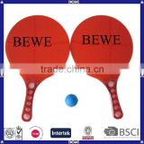 Plastic Beach Racket for Promotion Use with Hihg Quality