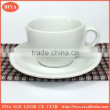 bulk tea cups promotional cheap custom logo porcelain coffee tea cup and saucer,espresso coffee cup and dish