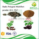 High quality 100% pure He shou wu/fo-ti extract/ Polygonum multiflorum extract powder help hair growth