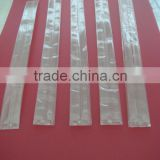 clear cigar bag,plastic tube bag for cigar, individual custom printed foil packages made for small cigar sized product