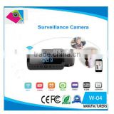 Full HD 1080P(16GB) WIFI Camera IP night version Camera digital hidden camera alarm Clock Mini Camcorders