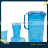 2014 Food Grade clear Printed Acrylic beer Mugs for Hotel, Bar and Household