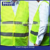 Yellow simple style safety hi viz vest