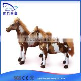 Best made toys animal toy plush lifelike Pony horse toy gift/2015 popular soft baby toys