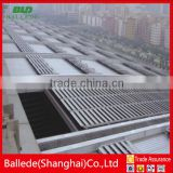 outdoor aluminum retractable louver roof system for sunshade