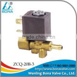 "BONA Brass Solenoid Valve Steam Iron/Steam Cleaner Solenoid Valve Female screw 1/8""*6.mm ZCQ-20B-3"