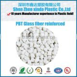 engineering plastic raw material pbt granules , flame-retardant and glassfiber reinforced pbt V0 resin with 25% gf