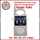Factory price!!Good feedback jmd handy baby car key copy auto key programmer for 4D/46/48 Chips transponder Programmer