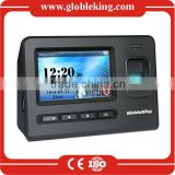 4.3 Touch Screen fingerprint time attendance terminal with free software management/RFID card /Backup Battery