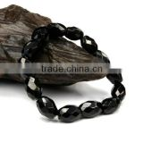 wholesalae loose black diamond beads for jewelry making