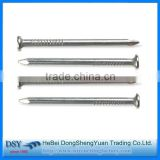 round head iron nails wire nails common nails/wholesale standard galvanized concrete nails